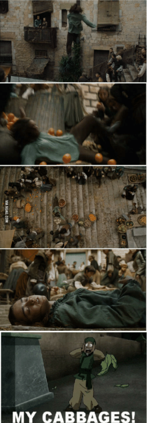 Scene, This, and  Reaction: MY CABBAGES! My reaction to this scene..