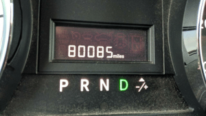 My car reached an important milestone today.: My car reached an important milestone today.
