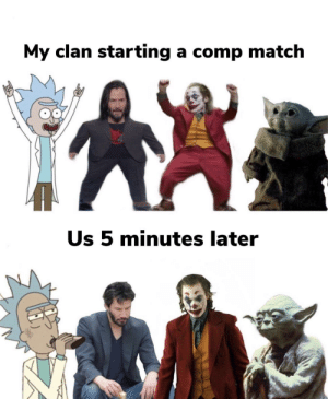 Any Destiny 2 fans here?: My clan starting a comp match  Us 5 minutes later Any Destiny 2 fans here?