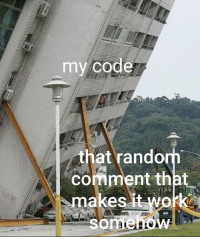 Magic, Code, and Rand: my code  that rand  comment that  makes Its magic