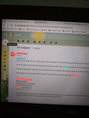 My counselor sending me an email just to be nice when I didn't even request it actually makes me happy. So sad she's retiring because she taught me why counselors are actually important.: My counselor sending me an email just to be nice when I didn't even request it actually makes me happy. So sad she's retiring because she taught me why counselors are actually important.