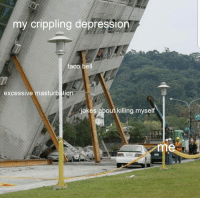 Taco Bell, Depression, and Jokes: my crippling depression  taco bell  excessive masturbation  jokes about killing myself me irl