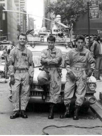 Dad, Streets, and Platoon: My dad and the two remaining men in his platoon patrolling the streets of Saigon (1967)