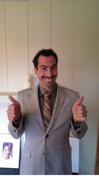 My Dad Dressed up as Borat For Halloween: My Dad Dressed up as Borat For Halloween