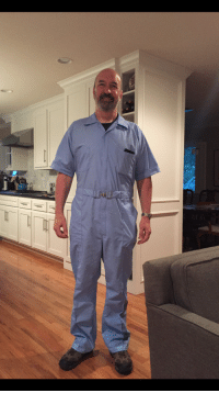 Dad, Work, and Day: My dad is retiring after 33 years of public service and he decided to wear this on his last day at work