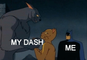 Dash, Me, and My: MY DASH  ME