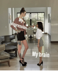 Brain, Depression, and Bryan: My  depression  My brain  @the.bryan.atkinson