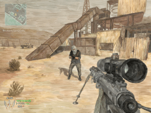 My digital painting of Rust from MW2 / Amadeus Chavez: My digital painting of Rust from MW2 / Amadeus Chavez