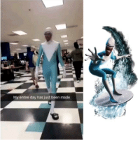 9gag, Frozone, and Halloween: My entire day has just been made You tell me where my suit is, woman! We are talking about the greater good! ❄️ Follow @9gag - - 📷@ddl_snare - - 9gag halloween incredibles greatergood frozone