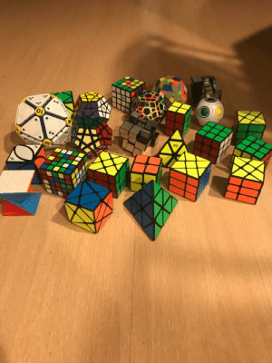 My epic Rubik cube collection: My epic Rubik cube collection