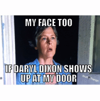Yup! 😮 thewalkingdead carolpeletier daryldixon reunion(credit to Stuff...Thangs): MY FACE TOO  IF DARYL DIXON SHOWS  UP AT MY DOOR  Stuff  Thangs Yup! 😮 thewalkingdead carolpeletier daryldixon reunion(credit to Stuff...Thangs)