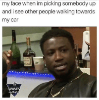 Who can relate? 😳😒💯 https://t.co/4jMkY9OiQS: my face when im picking somebody up  and i see other people walking towards  my car  WAVE Who can relate? 😳😒💯 https://t.co/4jMkY9OiQS