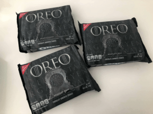 My Facebook memory this morning kindly reminded me how excited I was to finally find GoT Oreos. Oh how things have changed...: My Facebook memory this morning kindly reminded me how excited I was to finally find GoT Oreos. Oh how things have changed...