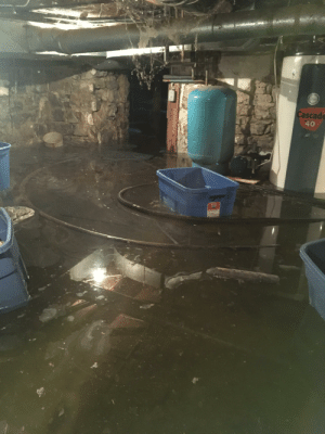 My family's basement flooded and to make matters worse our sump pump broke!: My family's basement flooded and to make matters worse our sump pump broke!