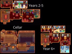 My Farmhouse over the years :) Heaps of people on this subreddit and others have inspired small parts of my house so I thank you for sharing your awesome designs.: My Farmhouse over the years :) Heaps of people on this subreddit and others have inspired small parts of my house so I thank you for sharing your awesome designs.