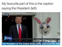 """<p>Because it needs to be implied via /r/dank_meme <a href=""""http://ift.tt/2oqBLuW"""">http://ift.tt/2oqBLuW</a></p>: My favourite part of this is the caption  saying the President (left)  LIVE  SQUAWKON  THESTREET  BC  The President of The United States (left), welcomed the atten <p>Because it needs to be implied via /r/dank_meme <a href=""""http://ift.tt/2oqBLuW"""">http://ift.tt/2oqBLuW</a></p>"""