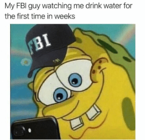 Fbi, Pinterest, and Time: My FBI guy watching me drink water for  the first time in weeks 𝘍𝘰𝘭𝘭𝘰𝘸 𝘮𝘺 𝘗𝘪𝘯𝘵𝘦𝘳𝘦𝘴𝘵! → 𝘤𝘩𝘦𝘳𝘳𝘺𝘩𝘢𝘪𝘳𝘦𝘥