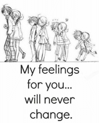 Life, Love, and Memes: My feelings  for you  will never  change tag someone Check out all of my prior posts⤵🔝 Positiveresult positive positivequotes positivity life motivation motivational love lovequotes relationship lover hug heart quotes positivequote positivevibes kiss king soulmate girl boy friendship dream adore inspire inspiration couplegoals partner women man