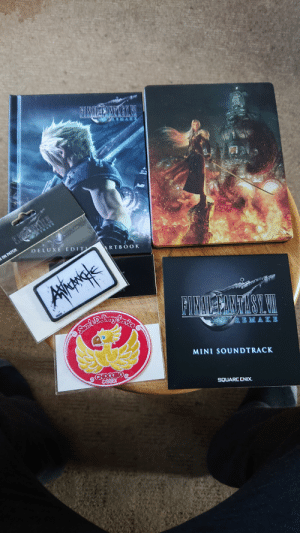 My final fantasy 7 finally came. Even complete with the soundtrack, Never heard it before as I was always listening to THE PRODIGY, MUSIC FOR THE JILTED GENERATION. Always reminds me of playing when I hear that album.: My final fantasy 7 finally came. Even complete with the soundtrack, Never heard it before as I was always listening to THE PRODIGY, MUSIC FOR THE JILTED GENERATION. Always reminds me of playing when I hear that album.
