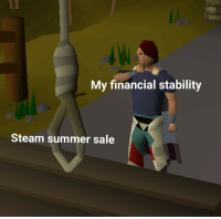 "Steam, Summer, and Via: My financial stability  Steam summer sale <p>Tapping into a high-potential niche market via /r/MemeEconomy <a href=""https://ift.tt/2IPxxqY"">https://ift.tt/2IPxxqY</a></p>"
