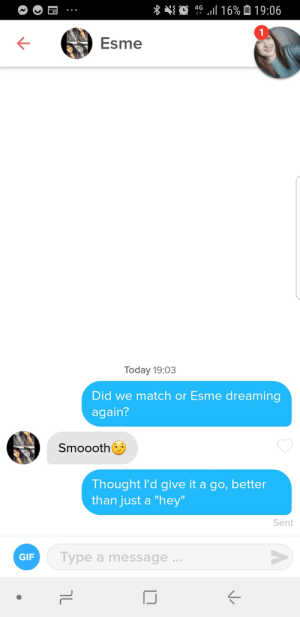 My first attempt at a name opening line. Could be better.: My first attempt at a name opening line. Could be better.