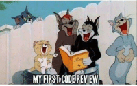 Code, First, and Review: MY FIRST CODE REVIEW First code review