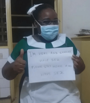 My friend is a nurse and she wanted to be famous on Reddit.: My friend is a nurse and she wanted to be famous on Reddit.