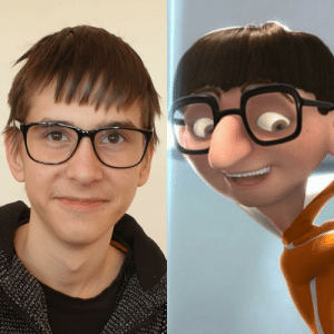 My friend totally looks like Vector but doesn't admit it. Can you guys prove him wrong?: My friend totally looks like Vector but doesn't admit it. Can you guys prove him wrong?