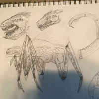 My friend wanted me to draw this for her class. I still have a ways to go sketch draw drawing art lineart sketchbook monster: My friend wanted me to draw this for her class. I still have a ways to go sketch draw drawing art lineart sketchbook monster