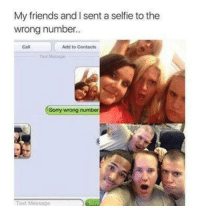 wrong number text messages