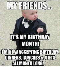 Visit https://zodiacthing.com/store/taurus to pick a birthday gift from our page: MY FRIENDS  ITS MY BIRTHDAY  MONTH!  IMINOWACCEPTINGBIRTHDAY  DINNERS, LUNCHES& GIFTS  ALL MONTH LONG! Visit https://zodiacthing.com/store/taurus to pick a birthday gift from our page