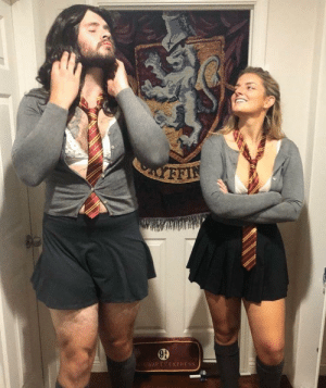 Funny, Hermione, and Via: My GF and me as Hermione and Hismione via /r/funny https://ift.tt/2CKGYc2