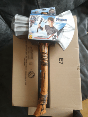 My GF ordered some ankle weights for running and somehow got sent this instead…trying to convince her to just go out running with the hammer: My GF ordered some ankle weights for running and somehow got sent this instead…trying to convince her to just go out running with the hammer