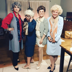 my girlfriends and i were the golden girls for halloween: my girlfriends and i were the golden girls for halloween