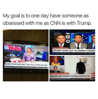 America, cnn.com, and Facebook: My goal is to one day have someone as  obsessed with me as CNN is with Trump.  BREAKING NEW S  TRUMP GOES OUT TO DINNER TONIGH  WHEN TRUMP EATS FAST F00D WITHA KNIFEAND FORK  TRUMP WHITE HOUSE  PRESIDENT GETs2scoops ORICECREAM, EVERYONE ELSE1  THEst cusTOMERS CONTINUE TO BECOSTUER THAN THE COMPANY NEWSNOO It's like CNN is Trump's lost lover-stalker; who won't shut the hell up unless Trump gives them some attention. cnn trumpmemes liberals libbys democraps liberallogic liberal maga conservative constitution presidenttrump resist stupidliberals merica america stupiddemocrats donaldtrump trump2016 patriot trump yeeyee presidentdonaldtrump draintheswamp makeamericagreatagain trumptrain triggered CHECK OUT MY WEBSITE AND STORE!🌐 thetypicalliberal.net-store 🥇Join our closed group on Facebook. For top fans only: Right Wing Savages🥇 Add me on Snapchat and get to know me. Don't be a stranger: thetypicallibby Partners: @theunapologeticpatriot 🇺🇸 @too_savage_for_democrats 🐍 @thelastgreatstand 🇺🇸 @always.right 🐘 @keepamerica.usa ☠️ @republicangirlapparel 🎀 @drunkenrepublican 🍺 TURN ON POST NOTIFICATIONS! Make sure to check out our joint Facebook - Right Wing Savages Joint Instagram - @rightwingsavages