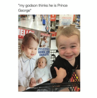 """somebody teach Nehoy to play the guitar: my godson thinks he is Prince  George""""  GEORGE AND  ser CHARLOTTE somebody teach Nehoy to play the guitar"""