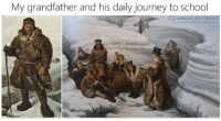 Journey, School, and Classical Art: My grandfather and his daily journey to school  ASSICALART