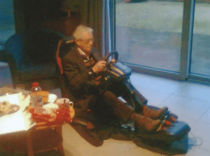 My grandfather teached me grand prix circuit (1987); today he passed away (93 year); this was the last picture I have of him gaming: My grandfather teached me grand prix circuit (1987); today he passed away (93 year); this was the last picture I have of him gaming