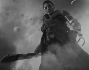 Grandma, Internet, and Saw: My grandma fighting Nazis during WW2. Didnt know this photo existed until I came across it randomly on the internet. She cried when he saw it. Hope this is the right place to post it. ( 1943 )