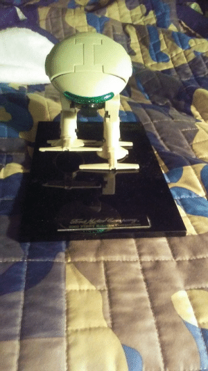 """My grandpa gave this to me a few days ago. The stand at the bottom says """"Ford Motor Company 2000 FIRST Robotics Competition. Apparently one of his friends was heavily involved with FRC. I thought you guys would like this, I sure do.: My grandpa gave this to me a few days ago. The stand at the bottom says """"Ford Motor Company 2000 FIRST Robotics Competition. Apparently one of his friends was heavily involved with FRC. I thought you guys would like this, I sure do."""