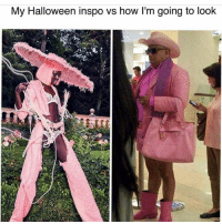 So much same: My Halloween inspo vs how I'm going to look So much same