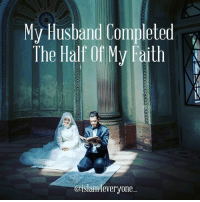 Memes, Neighbors, and Quran: My Husband Completed  The Half Of My Faith  @islamA ever  yone_ I was born in a mixed-religious family (my father is Jewish and my mom is a Christian). I was a Christian in the eyes of the Jews and a Jew in the eyes of the Christians…So I decided not to label myself and just started to tell people that I believed in God and I didn't need a religion to prove it. Back in high school, I had to do a research on the topic of women in Islam, though at that moment the only image I had was of a woman getting beaten up by her husband thanks to my neighbor who used to do that. I later found out that I was wrong, women do have rights in Islam, perhaps a lot more than in any other religion and that there are bad men everywhere regardless of their faith. 4 months later, I woke up one day wondering what would happen if I became a Muslim. So I decided to go to a mosque. When I was there, I heard the most beautiful thing I had ever heard in my life. I asked the Imam's wife what that was and she told me it was her husband reciting the Quran. That day, I came back home as a Muslim, Alhamdulillah. I thought converting was the hardest part, but it wasn't. I tried to follow Islam correctly, but no matter how covered I was or how much I studied, it seemed it wasn't enough for some people. After a year, I got tired and took off my hijab. I started to walk away from my faith. Somehow the hijab was a constant reminder of who I was now and kept me closer to my faith. I tried to wear it again but my parents won over this and I failed. Last year I met this wonderful guy who was so religious, generous, and wise…I felt I had to try harder. I thought that if he could do it then I could do it too. I started to pray and study again. And most importantly, I now feel the same way as I did when I first listened to the Quran. He is now my husband, and I could never thank him enough for being so supportive and for making a better Muslim. Alhamdulillah (All praise to Allah) for him and for many other things. Thank you for reading this. May Allah SWT (All-Praised and Exalted) bless you. -Anonymous