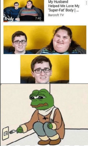 Pepe has seen all his comrades die via /r/memes https://ift.tt/2NhKEFV: My Husband  Helped Me Love My  Super-Fat Body .  Barcroft TV  truly  7:40 Pepe has seen all his comrades die via /r/memes https://ift.tt/2NhKEFV