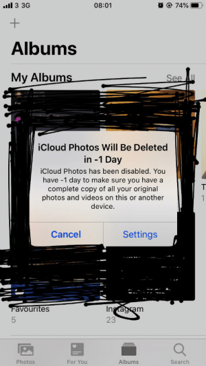 My iCloud Photos does have a hatred against me.: My iCloud Photos does have a hatred against me.