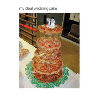 I'm so tired: my ideal wedding cake I'm so tired
