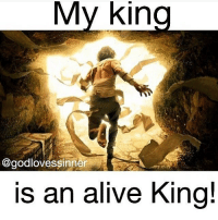 My king conquered death! He is risen!: My King  @godlovessinner  is an alive King! My king conquered death! He is risen!