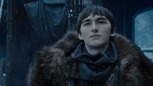 Change, Hope, and Arya: My last hope, this guy tries to change the past and save Kings Landing, he accidentally stops Arya killing the Night King and we get a suprise 4 extra episodes with new events
