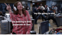 80s, Dancing, and Life: my life going to shit  me dancing to 80s  pop music at 3am me   (via @grahmcoxons)