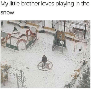 Imgur, Snow, and Little Brother: My little brother loves playing in the  snow So much fun (i.imgur.com)