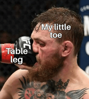 Meirl by Jazzur MORE MEMES: My Little  toe  Table  leg Meirl by Jazzur MORE MEMES